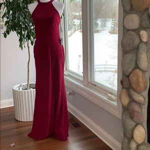 NWT Lulu's Berry prom dress